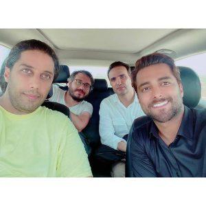 پشت صحنه عکس بازیگران سریال جزیره (1)